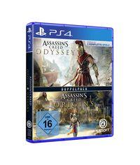 Hier klicken, um das Cover von Assassin's Creed Odyssey + Assassin's Creed Origins (PS4) zu vergrößern