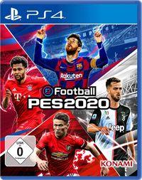 Hier klicken, um das Cover von eFootball PES 2020 (PS4) zu vergrößern