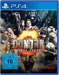 Hier klicken, um das Cover von Contra: Rogue Corps (Ps4) zu vergrößern