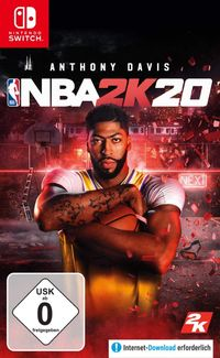 Hier klicken, um das Cover von NBA 2K20 Standard Edition (Switch) zu vergrößern