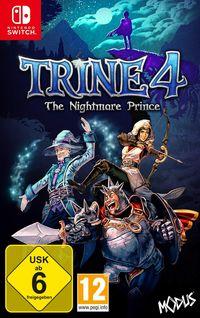 Hier klicken, um das Cover von Trine 4 - The Nightmare Prince (Switch) zu vergrößern