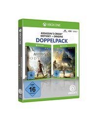 Hier klicken, um das Cover von Assassin's Creed Odyssey + Assassin's Creed Origins (Xbox One) zu vergrößern