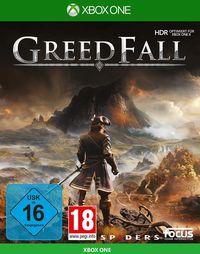 Hier klicken, um das Cover von Greedfall (Xbox One) zu vergrößern