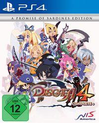 Hier klicken, um das Cover von Disgaea 4 Complete+ (PS4) zu vergrößern
