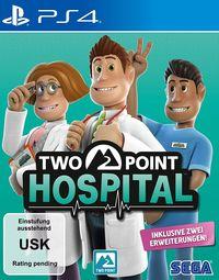 Hier klicken, um das Cover von Two Point Hospital (PS4) zu vergrößern