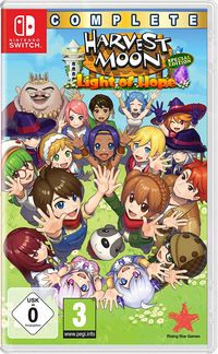 Hier klicken, um das Cover von Harvest Moon Light of Hope Complete Special Edition (Switch) zu vergrößern