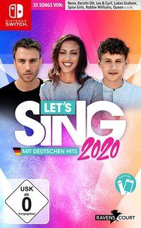 Hier klicken, um das Cover von Let's Sing 2020 mit deutschen Hits (Switch) zu vergrößern