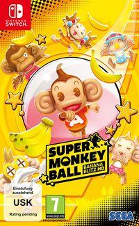 Hier klicken, um das Cover von Super Monkey Ball Banana Blitz HD (Switch) zu vergrößern