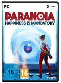 Hier klicken, um das Cover von Paranoia - Happiness is Mandatory (PC) zu vergrößern