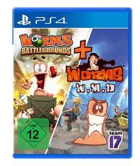 Worms Battlegrounds + W.M.D (PS4)