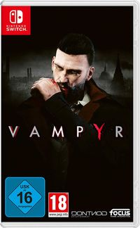 Hier klicken, um das Cover von Vampyr (Switch) zu vergrößern