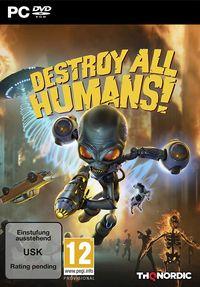 Hier klicken, um das Cover von Destroy All Humans! Standard Edition (PC) zu vergrößern