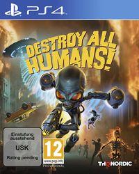 Hier klicken, um das Cover von Destroy All Humans! Standard Edition (PS4) zu vergrößern