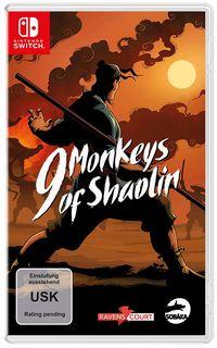 Hier klicken, um das Cover von 9 Monkeys of Shaolin (Switch) zu vergrößern