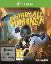Hier klicken, um das Cover von Destroy All Humans! Standard Edition (Xbox One) zu vergrößern