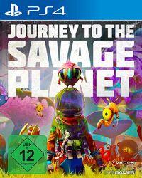 Hier klicken, um das Cover von Journey to the Savage Planet (PS4) zu vergrößern
