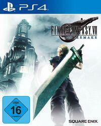 Hier klicken, um das Cover von Final Fantasy VII HD Remake (PS4) zu vergrößern