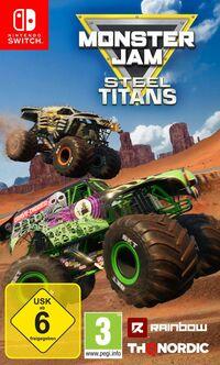 Hier klicken, um das Cover von Monster Jam Steel Titans (Switch) zu vergrößern