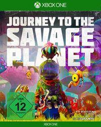 Hier klicken, um das Cover von Journey to the Savage Planet (Xbox One) zu vergrößern