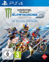 Hier klicken, um das Cover von Monster Energy Supercross - The Official Videogame 3 (PS4) zu vergrößern