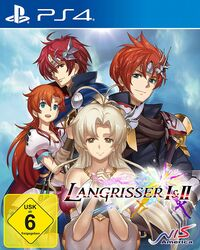 Hier klicken, um das Cover von Langrisser I & II (PS4) zu vergrößern