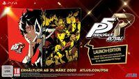 Hier klicken, um das Cover von Persona 5 Royal Launch Edition (PS4) zu vergrößern