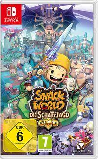 Hier klicken, um das Cover von Snack World: Die Schatzjagd (Switch) zu vergrößern