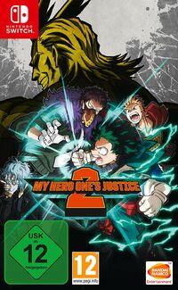 Hier klicken, um das Cover von My Hero One's Justice 2 (Switch) zu vergrößern
