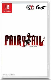 Hier klicken, um das Cover von FAIRY TAIL (Switch) zu vergrößern