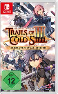 Hier klicken, um das Cover von The Legend of Heroes: Trails of Cold Steel III Extracurricular Edition (Switch) zu vergrößern