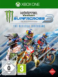 Hier klicken, um das Cover von Monster Energy Supercross - The Official Videogame 3 (Xbox One) zu vergrößern