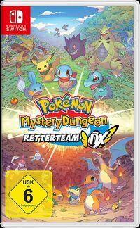 Hier klicken, um das Cover von Pokemon Mystery Dungeon: Retterteam DX (Switch) zu vergrößern