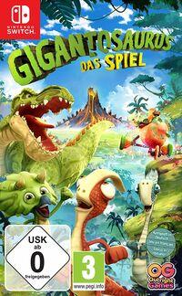 Hier klicken, um das Cover von Gigantosaurus: Das Videospiel (Switch) zu vergrößern