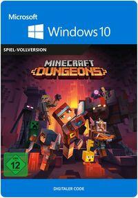 Hier klicken, um das Cover von Minecraft Dungeons Standard (PC) zu vergrößern