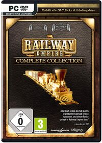 Hier klicken, um das Cover von Railway Empire Complete Collection (PC) zu vergrößern