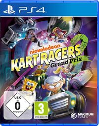 Hier klicken, um das Cover von Nickelodeon Kart Racers: Grand Prix (PS4) zu vergrößern