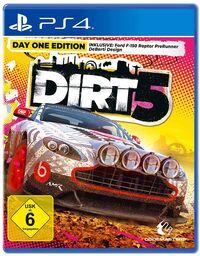 Hier klicken, um das Cover von DIRT 5 - Day One Edition (PS4) zu vergrößern