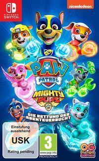 Hier klicken, um das Cover von Paw Patrol: Mighty Pups – Die Rettung der Abenteuer-Bucht (Switch) zu vergrößern