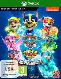 Hier klicken, um das Cover von Paw Patrol: Mighty Pups – Die Rettung der Abenteuer-Bucht (Xbox One) zu vergrößern