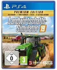 Hier klicken, um das Cover von Landwirtschafts-Simulator 19 - Premium Edition (PS4) zu vergrößern