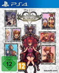Hier klicken, um das Cover von Kingdom Hearts Melody of Memory (PS4) zu vergrößern
