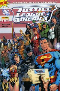 Hier klicken, um das Cover von Justice League Of America 1: Aus der Asche zu vergrößern