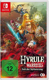 Hier klicken, um das Cover von Hyrule Warriors: Zeit der Verheerung (Switch) zu vergrößern
