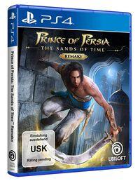 Hier klicken, um das Cover von Prince of Persia: The Sands of Time Remake (PS4) zu vergrößern