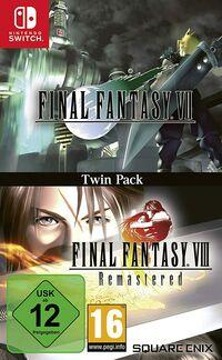 Hier klicken, um das Cover von Final Fantasy VII & Final Fantasy VIII Remastered Twin Pack (Switch) zu vergrößern