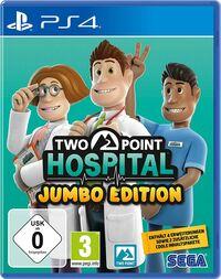 Hier klicken, um das Cover von Two Point Hospital: Jumbo Edition (PS4) zu vergrößern
