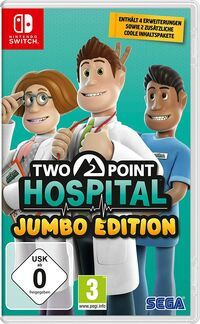Hier klicken, um das Cover von Two Point Hospital: Jumbo Edition (Switch) zu vergrößern