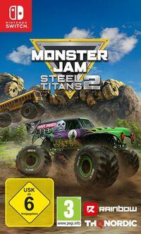 Hier klicken, um das Cover von Monster Jam Steel Titans 2 (Switch) zu vergrößern