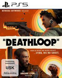 Hier klicken, um das Cover von DEATHLOOP (PS5) zu vergrößern