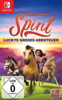 Hier klicken, um das Cover von Spirit Luckys gross~es Abenteuer (Switch) zu vergrößern